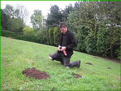 Mole Control in Nottinghamshire and N.E. Derbyshire